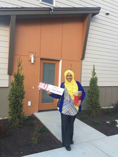 Congratulations Sahara on your beautiful first home!! | Lynnwood, WA   #NewConstruction #SnohomishCounty #FirstTimeHomeBuyer