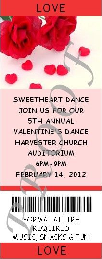 valentine's day dance presentation