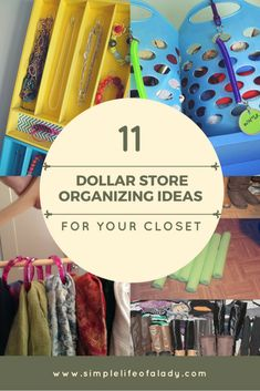 15 Simple and Smart Closet Organization Hacks by - Dorm Room Hacks Ideas Linen Closet Organization, Small Space Organization, Toy Organization, Organizing Ideas, Smart Closet, Small Closet Space, Small Spaces, Decluttering, Dollar Stores