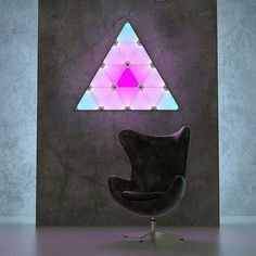 Nanoleaf Auorora Smart Interactive Animated Customizable Lighting Panels // 10 Best SMART Home Technology Devices That Will Leave You Spellbound