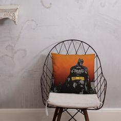 Batman Protects Gotham Pillow Afternoon Nap, Pillow Fight, Gotham, Batman, Shapes, Pillows, Room, Bedroom, Cushion