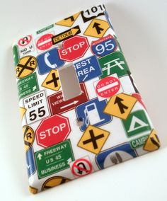 Transportation Theme Switch Plate