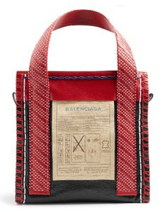 Balenciaga Arena Leather Scaffold Medium Tote Bag In Black Tote Handbags, Purses And Handbags, Tote Bags, Clutch Bags, Leather Purses, Leather Handbags, Red Leather, Leather Totes, Leather Bags