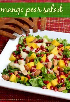 Easy Mango Pear Sala