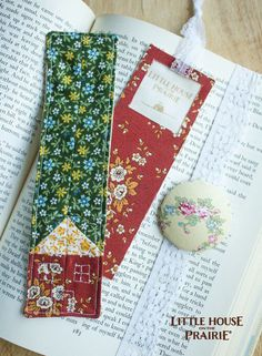 Three fabric bookmark DIYs inspired by Little House on the Prairie - which one will you choose?