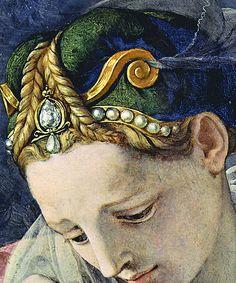Deposition of Christ (detail), Bronzino.