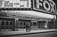 we had our engagement pics done here at the same time as these 2.. The marquee on our pics says the same as this one... too funny