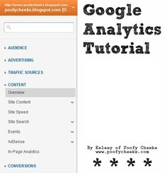 Google Analytics Tutorial!!    Must Read for new bloggers! Internet Marketing, Online Marketing, Google Analytics, Blogger Tips, Creating A Blog, Social Media Tips, Business Tips, About Me Blog, Teaching