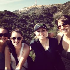 Hollywood hike with Mad Dogg employees!