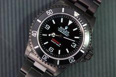Rolex Submariner 3 6 9 Explorer Dial DLC by BREVET+