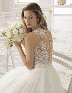 Basora, Rosa Clará: AIRE Barcelona 2018-as menyasszonyi ruha