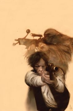 Ashley Wood's cover art for Star Wars Tales 16