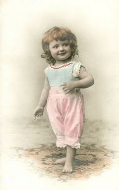 Vintage pic of child
