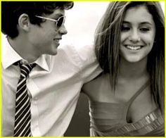 Ariana Grande & Graham Phillips  FUCK THAT BITCH. SHE NEEDS TO GET AWAY FROM MY MAN. :p