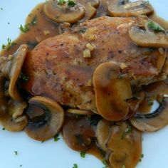 "Chef John's Chicken Marsala I ""Perfect, classic chicken marsala. This was so simple but it looked like I worked all day on it."""
