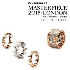 Visit us at Masterpiece London @masterpiecelondon . To receive a complimentary ticket, please email your name and postal address to info@francescagrima.com