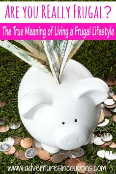 Are you really frugal? You might think so but not be! Learn what the true meaning of living a frugal lifestyle is and why you should make the change!