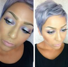Great hair color and cut but hate the make-up! No worries, nothing can bring…