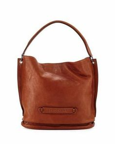 Shop Now - >  https://api.shopstyle.com/action/apiVisitRetailer?id=455318572&pid=uid6996-25233114-59 Longchamp Longchamp 3D Leather Hobo Bag  ...