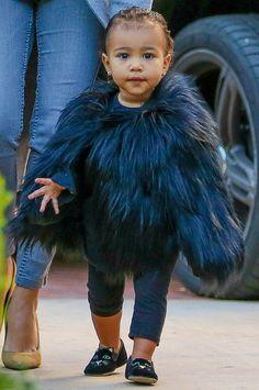 EstiloDF » Duelo de estilos entre baby it girls: Harper Beckham y North West