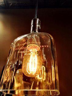 Repurposed Woodford Reserve bottle