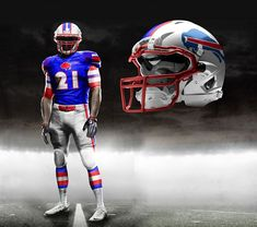 NFL COLOR RUSH · Awesome New Uniform Designs For All 32 NFL Teams Team  Uniforms cd90b1c7a