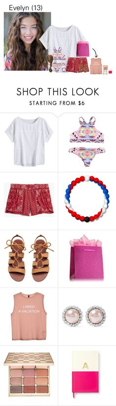 """Ashleigh's birthday party!"" by mybeautifulfamilies ❤ liked on Polyvore featuring Madewell, Lokai, Miu Miu, Stila, Kate Spade and Initial Reaction"