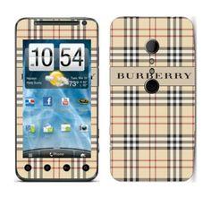 Coque Burberry pour HTC Evo 3D #geekette
