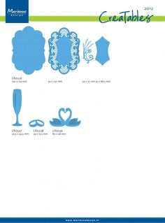 Available Creatables in 2012 - Marianne Design