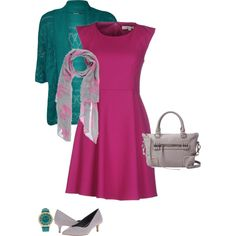 Mauve is a perfect color for a cool winter. Especially if you're looking for a color to stand out. This mauve looks great with a teal and grey.  Have fun and wear what you love!  Jen Thoden  Download your cool winter color guide today!