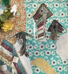 Succulence Fabrics by Bonnie Christine for Art Gallery at Quilt Market.
