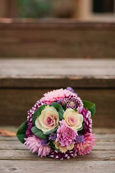 Purple & radiant orchid Cedar Farm Wedding - see more at http://fabyoubliss.com