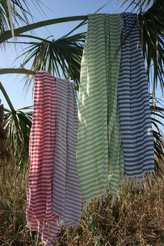 love the colors of the beach candy turkish-t - 100% turkish cotton.  perfect as a sarong, towel, blanket!