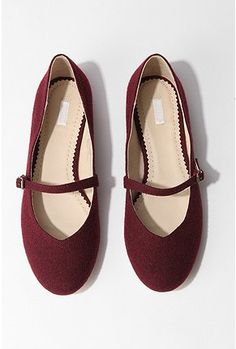 Cooperative Wool Sweetheart Maryjane Shoe