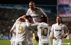 El pase a SemiFinales esta garantizado.!Hala Madrid!.