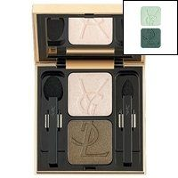 Yves Saint Laurent Ombre Duo Lumiere - No. 11 Intense Jade/ Lame Green - 2.8g/0.09oz