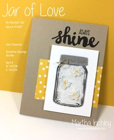 Inch of Creativity: Stamp Review Crew: Jar of Love