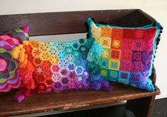a shoebox of photographs: small neat worlds in crochet