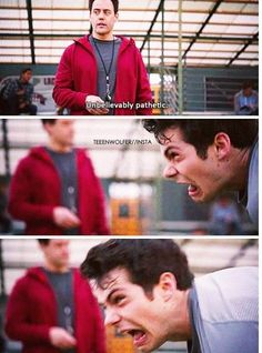 Teen Wolf ~ Coach and Stiles - 4.3 . . . we've all had a moment like this, right?