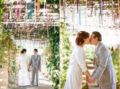 Un techo festivo y muy romántico / A romantic and festive ceiling