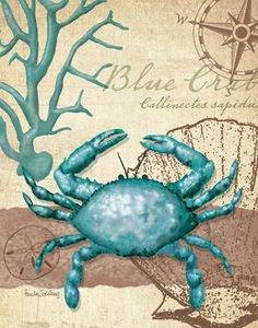Dear Little Turqoise Crab...I love you.