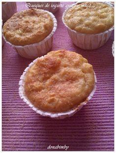 donabimby: Queques de Iogurte Grego e maçã