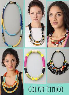 colar etnico, colar tribal, necklace