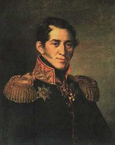 1a Sergey Grigoreyevich Volkonsky (1788-1865) was born into one of the most distinguished and oldest of the Russian aristocratic families. Educated abroad, he rose to Major General and was wounded in Eylau. Childhood friend of Czars Nicholas I and Alexander I. Inspired by his war experiences, prepared a report with reform proposals to Karansky. Disillusioned with the resistance to reform he joined the Decembrists.