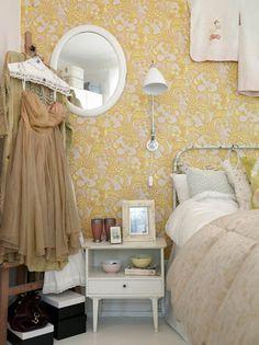 EN MI ESPACIO VITAL: Muebles Recuperados y Decoración Vintage: papel pintado/wallpaper