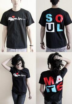 15e71cdb0e316 Cute couple t-shirts  ) Camisetas Personalizadas Parejas