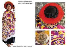 Traje típico de Quetzaltenango, Quetzaltenango