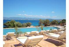 Swimming pool at Cap Rocat, Mallorca, Spain