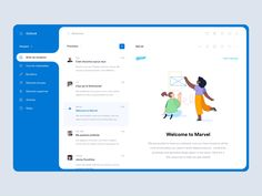 Outlook - Inbox designed by Gregoire Vella. the global community for designers and creative professionals. Dashboard Ui, Dashboard Design, Ui Ux Design, Ui Design Mobile, Design Responsive, Responsive Web, Design Tech, Web And App Design, Web Design Trends