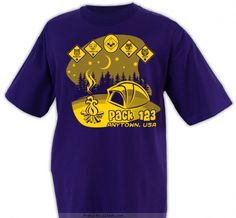 Cub Scout™ Pack Design SP3692 Wolf Scouts, Cub Scouts, Cub Scout Shirt, Scout Clothing, Cub Scout Crafts, Cubs Shirts, Scout Mom, Scout Activities, T Shorts